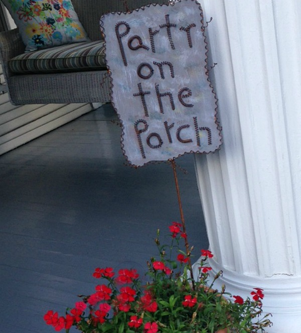 How to throw an old fashioned porch party