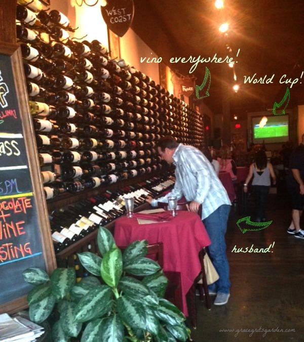 Wine. Veritas Wine Room, Dallas