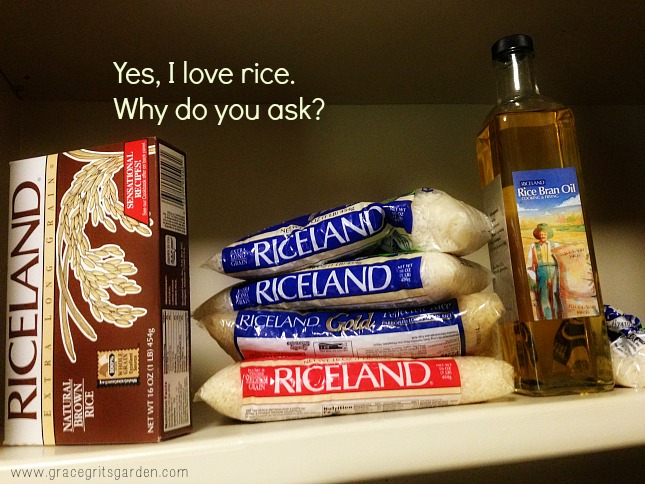 Yes I love rice. Why do you ask?