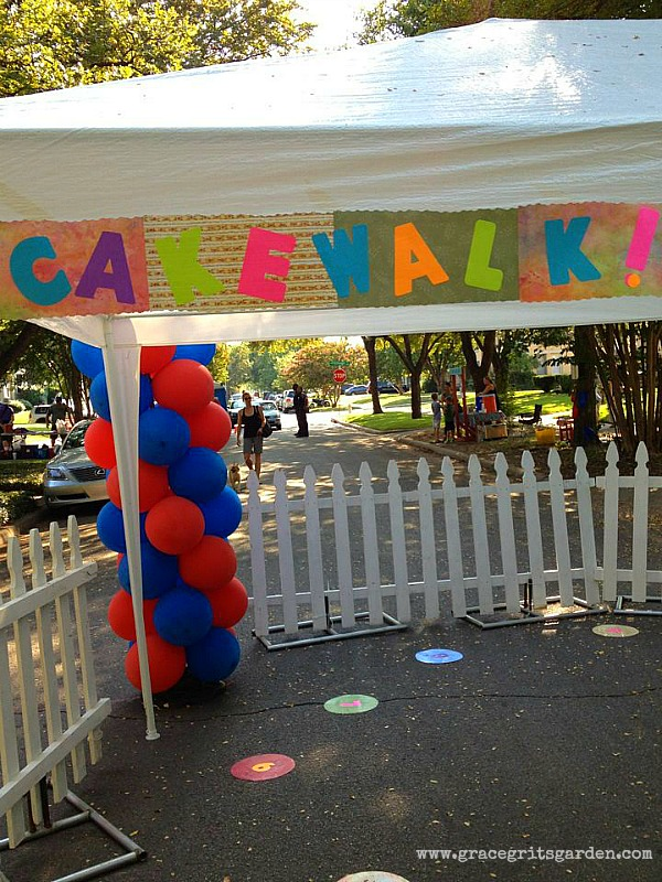 how to host a cake walk!