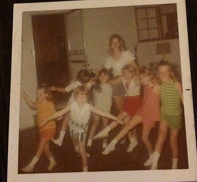 ballet lessons back in the day