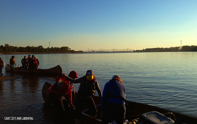 canoeing the Mississippi River