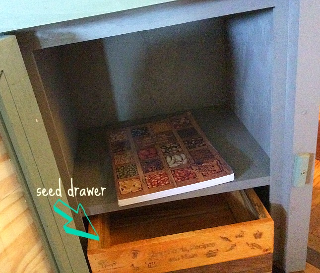 Little Free Library Seed Drawer