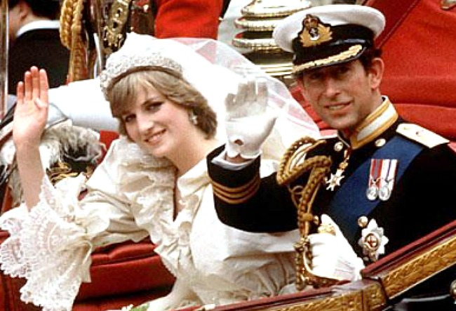 """Wedding of Charles, Prince of Wales, and Lady Diana Spencer photo"" by Source. Licensed under Fair use via Wikipedia - http://bit.ly/19TZNrD"