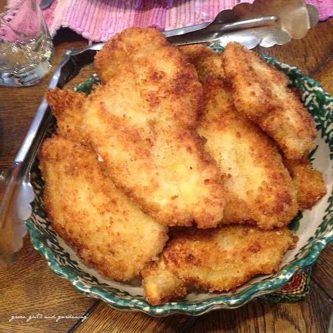 Dairy Hollow fried chicken