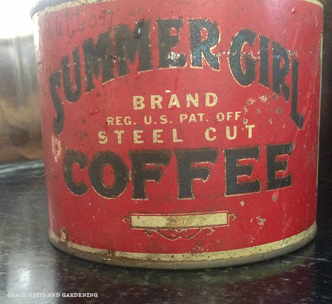 Summer Girl Coffee Tin