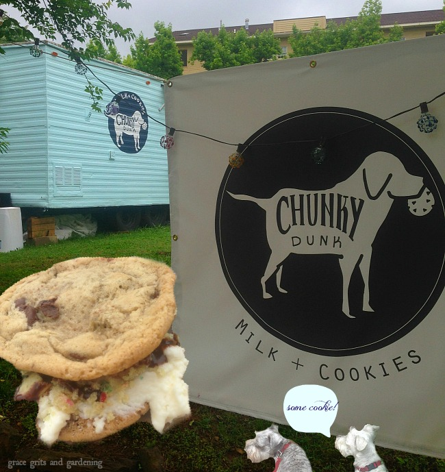 Lucy and Annabelle go to Chunky Dunk, Downtown Fayetteville