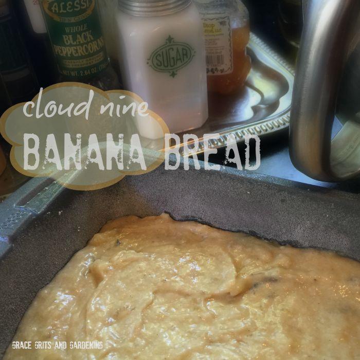 cloud nine banana bread