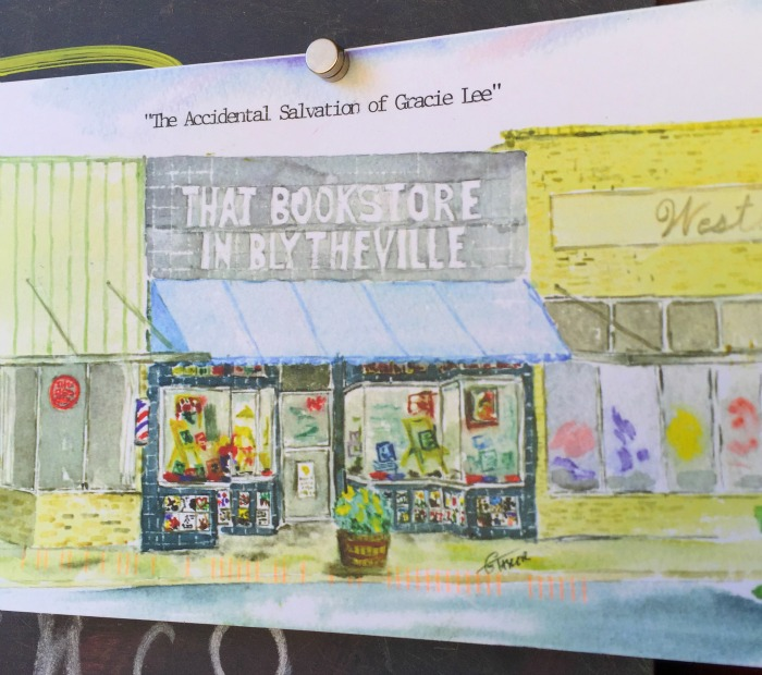 That Bookstore in blytheville book signing The Accidental Salvation of Gracie Lee