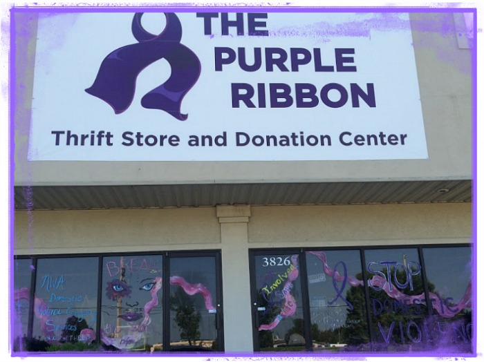 The Purple Ribbon Thrift Store, Fayetteville, Ar