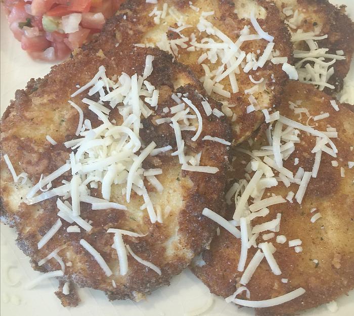 yummy fried squash