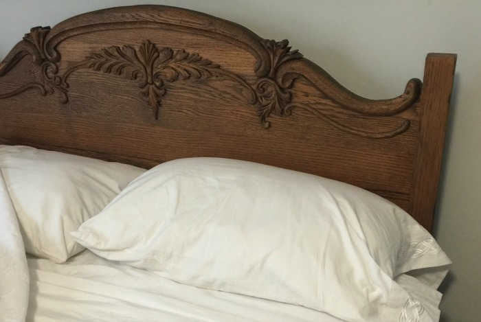 my bed at Dorothy's house
