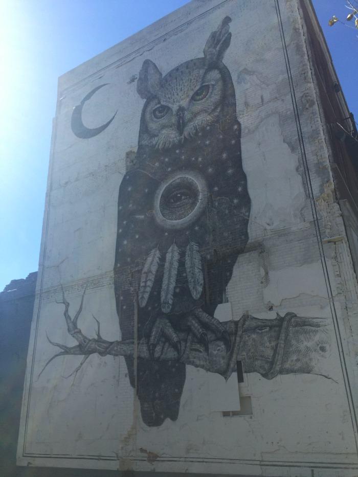 Fayetteville mural