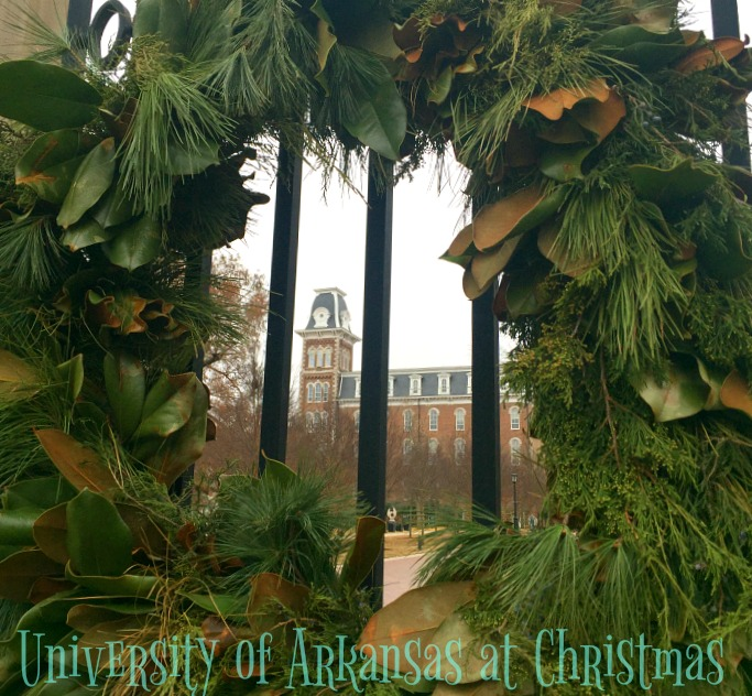 University of Arkansas at Christmas
