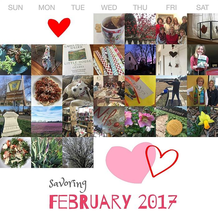 savoring february