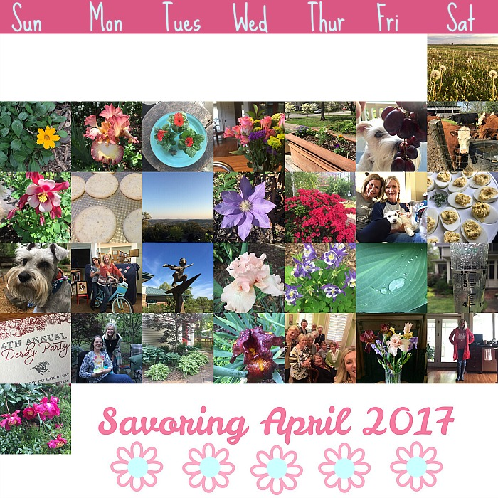 Savoring April 2017
