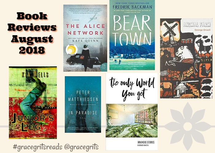 Book Reviews August 2018