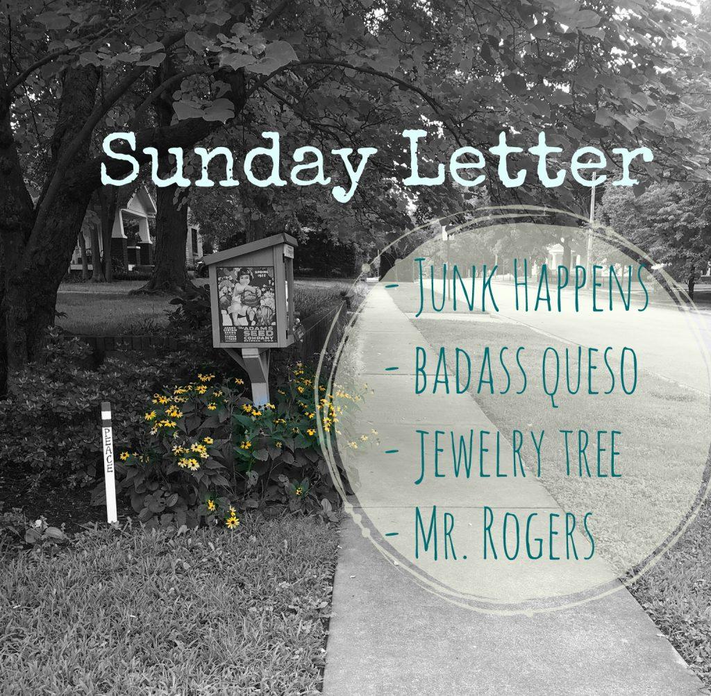 Sunday Letter 08.26.18