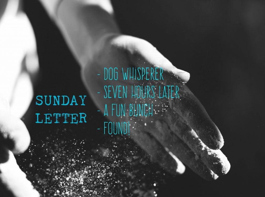 Sunday Letter 09.30.18