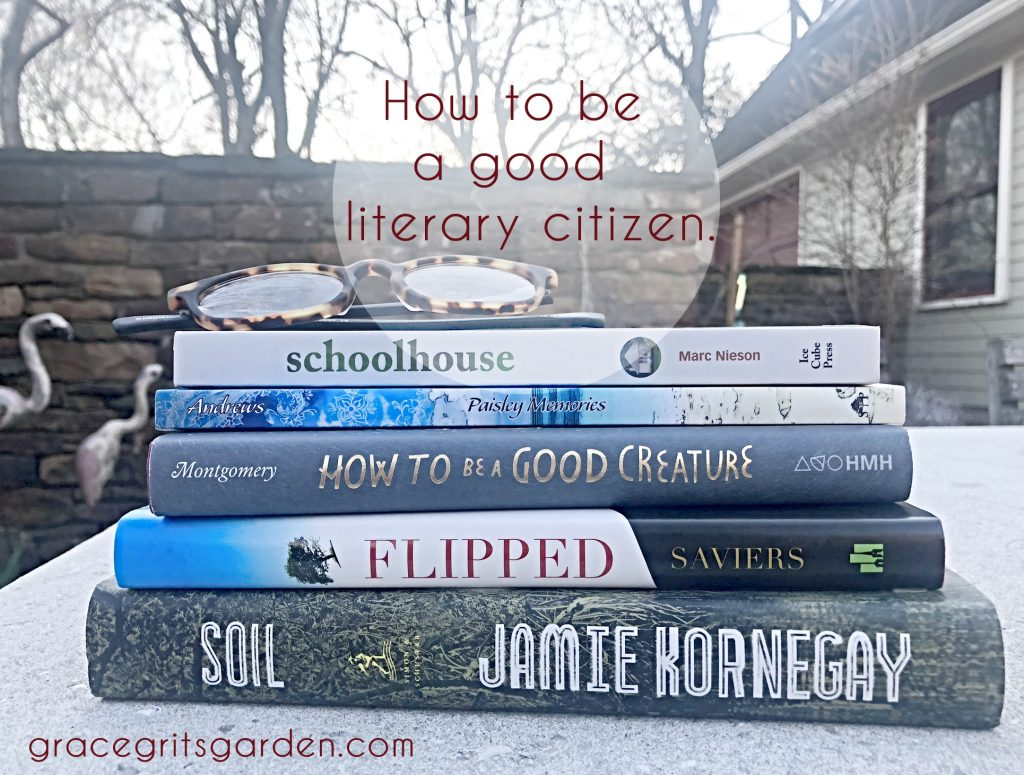 How to be a good literary citizen
