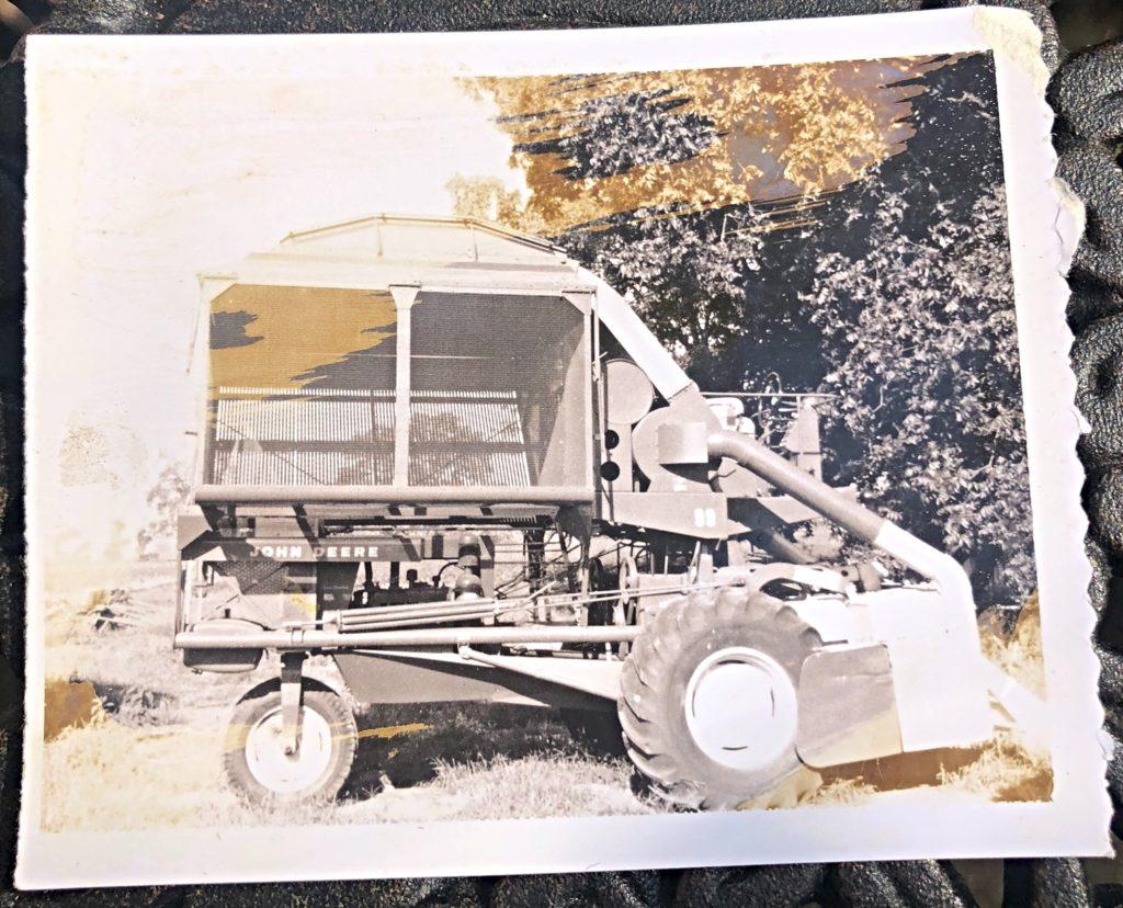 vintage Harvest / John Deere 99 cotton picker