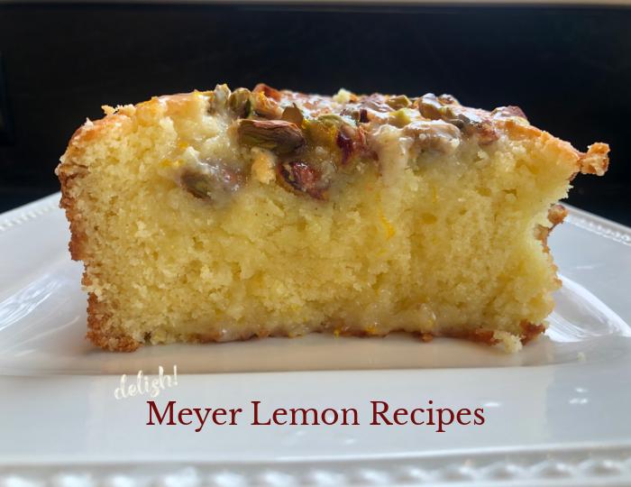 meyer lemon recipes